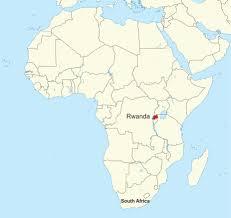 Rwanda Africa Map by Go Live Dare U2013 G A I N