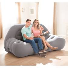 Intex Sofa Bed Intex Inflatable Camping Sofa Walmart Com