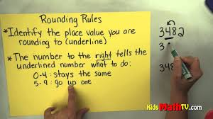 math video on the rules for rounding numbers 3rd u0026 4th grade