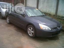 honda accord 2003 black honda accord 2003 gray for sale in lagos buy cars from onome