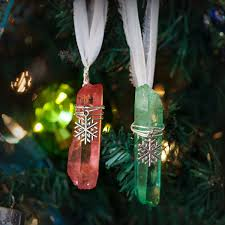 yuletide aura ornaments for spiritual healing peace and