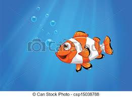 vector sea nemo fish illustration sea