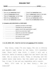 130 free esl some or any worksheets