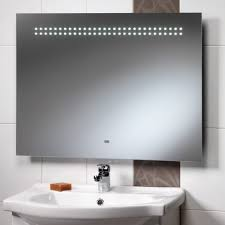 pyrus illuminated bathroom cabinet with sensor switch shaver