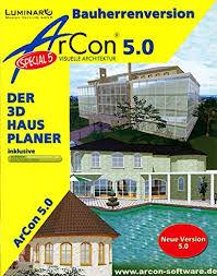 arcon visuelle architektur arcon special 5 0 visuelle architektur bauherrenversion
