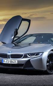 bmw supercar blue downaload bmw i8 supercar open door wallpaper 1440x2960