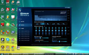 evolution home theater dolby home theater v4 demo with windows vista youtube
