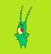 spongebob squarepants sheldon j plankton by kbinitiald on