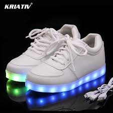 light up tennis shoes for kriativ usb charger lighted shoes for boy glowing sneakers