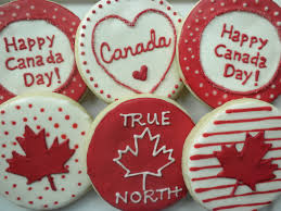 day cookies biscuits fête du canada canada day cookies canadaday