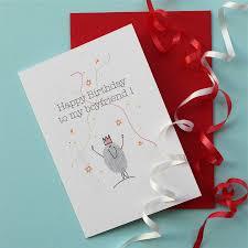 boyfriend birthday card by adam regester design