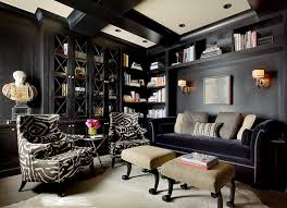 black built ins black living room transitional living room candace cavanaugh