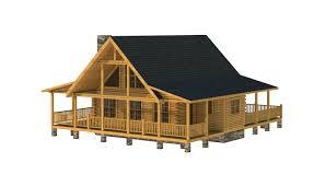 log cabin kits floor plans the pender