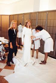 versace wedding dresses gianni versace made me a couture wedding gown instyle