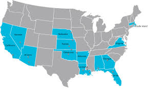 Louisiana State Map by Local Markets Coverage Maps Dma Cox Media Advertising