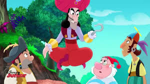 jake land pirates hook genie disney junior