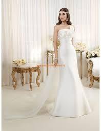 robe de mariã e traine robe de mariée satin avec traine amovible tulle