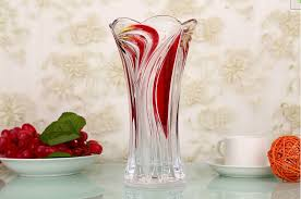 Colored Crystal Vases Selling Effiel Colored Different Types Glass Vase Buy