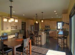 kitchen astonishing yellow light color scheme for open floor plan
