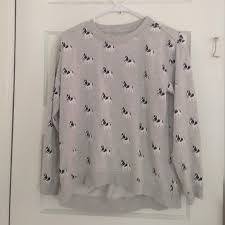 sweater with dogs on it 47 forever 21 sweaters grey sweater with dogs on it from