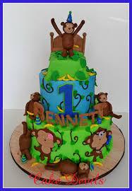 monkey cake topper monkey fondant cake topper monkeys jumping on the bed