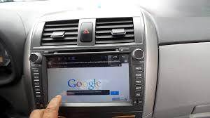 google toyota radio toyota corolla 2013 android youtube