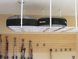 Ceiling Mount Storage by Making Diy Garage Storage