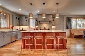 clear counter stools kitchen traditional with banquette seating