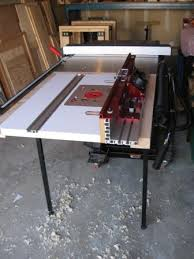 router table extension for sawstop canadian woodworking and home