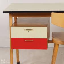 bureau vintage design vintage vintage birch desk ca 1960s ztijl