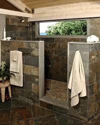 Walk In Shower Without Door Tile Showers Without Doors Filterstock