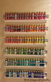 craft room before and after with paint storage ideas studio craft