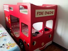 Fire Truck Bunk Bed A Lovely Kids Fire Engine Bunk Bed Classifieds Singapore