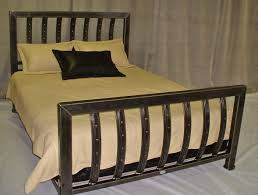 well suited custom metal bed frames handmade iron queen size bed