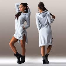 popular hooded jumper sweater dress buy cheap hooded jumper