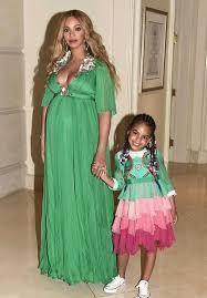 dress gown green dress beyonce blue ivy kids dress kids