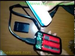 cara membuat powerbank menggunakan baterai abc cara membuat power bank rakitan sendiri baterai 18650 youtube