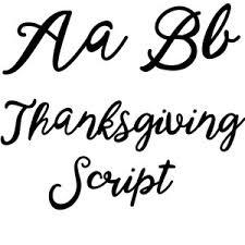 silhouette design store view design 159256 thanksgiving script
