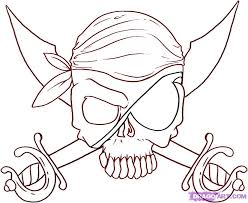 pirate flag coloring pages kids coloring