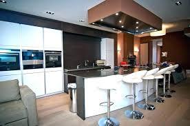 idee cuisine avec ilot cuisine ilot central table manger cuisinart air fryer