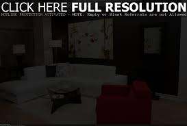 Decorating Living Room Walls by Bedroom Soothing Guest Bedroom With Gray Walls And Black Bed