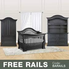 Davenport Convertible Crib Baby Appleseed 4 Nursery Set Davenport 3 In 1 Convertible