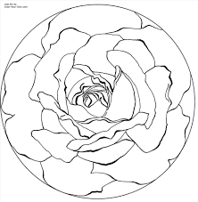 printable pages for free pictures of roses to color and print