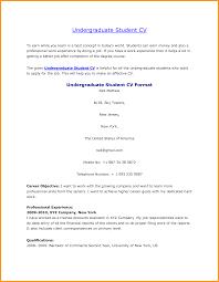 curriculum vitae template leaver resume undergraduate student curriculum vitae sample letter format mail