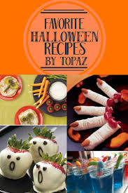 a round up of some of our favorite recipes for halloween food
