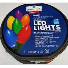 member s 72 001b mm 50 count multi bright led lights c