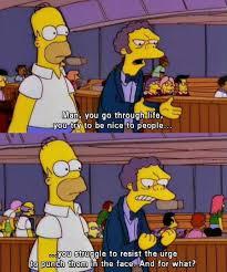 Moe Meme - homer simpson and moe sizlack justpost virtually entertaining