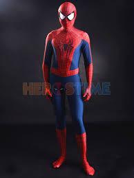 marvel amazing spiderman 2 costume halloween superhero