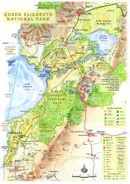 National Map East Africa Maps No 6 Queen Elizabeth National Park Uganda