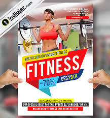 fitness flyer template fitness flyer template v 2 indiater